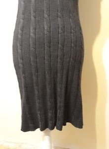 Calvin Klein Dresses - Calvin Klein Fitted Short Sleeve Sweater Dress